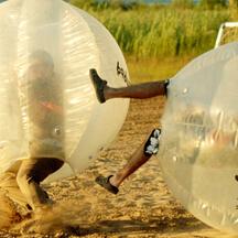 >Bubble Zorbing