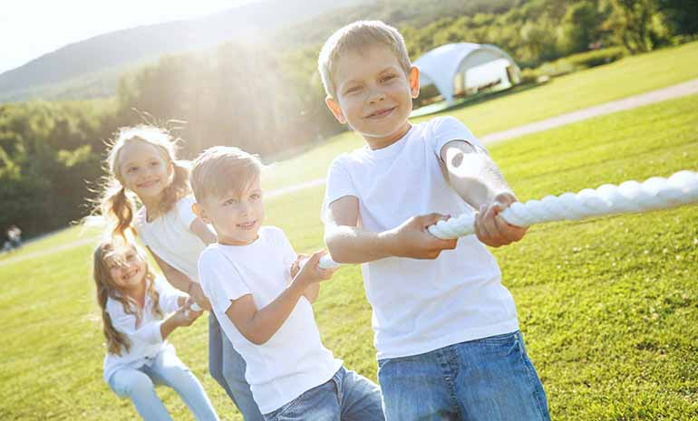 Outdoor Play is Beneficial for Children